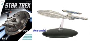 Star Trek Official Starships Collection #004  Enterprise NX-01 Eaglemoss